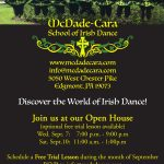 Open House and Free Trial Lessons – Discover the World of Irish Dance
